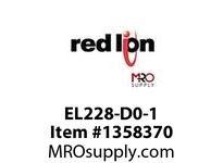 EL228-DD-1 EL228 w dual DC pwr sup