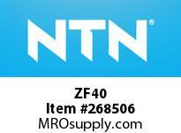 NTN ZF40 BRG PARTS(PLUMMER BLOCKS)
