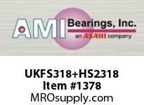 AMI UKFS318+HS2318 3-1/8 HEAVY WIDE ADAPTER 4-BOLT PIL