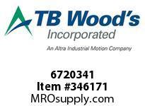 TBWOODS 6720341 FALK ASSEMBLY