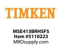 TIMKEN MSE415BRHSFS Split CRB Housed Unit Assembly