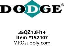 DODGE 35QZ12H14 TIGEAR-2 E-Z KLEEN REDUCER