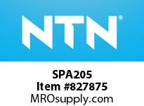 NTN SPA205 Stainless-Tapped base housing