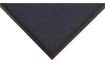 NoTrax 138S0046NB 138 Uptown 4X6 Navy Blue Uptown is a high-low looped pile entrance mat that provides functionality for drying and retaining moisture and debris while offering an upscale elegant look. Its 40 ounces of tufted Decalon yarn
