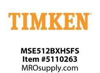 TIMKEN MSE512BXHSFS Split CRB Housed Unit Assembly