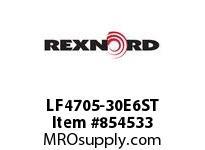 REXNORD LF4705-30E6ST LF4705-30 E6-4MMD STAG