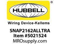 HBL_WDK SNAP2162ALLTRA SNAPCONNECT DECO 20A/125V LED TR AL