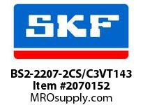 SKF-Bearing BS2-2207-2CS/C3VT143