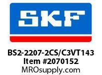 SKF-Bearing BS2-2207-2CS/C3VT143