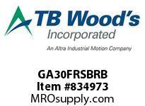 TBWOODS GA30FRSBRB SLV GA3 SHROUDED BOLT