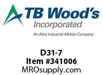 TBWOODS D31-7 WASHER