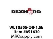 REXNORD WLT8505-24F1.5E WLT8505-24 F1.5 T28P N2 WLT8505-24 MATTOP CHAIN WITH A F1.5