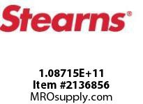 STEARNS 108715100033 BR-VERT ATIRE PR DISC-SQ 8012845