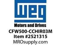 WEG CFW500-CCHIR03M 3M (10FT) RMT. KEYPAD CABLE VFD - CFW