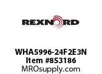 REXNORD WHA5996-24F2E3N WHA5996-24 F2 T3P WHA5996 24 INCH WIDE MATTOP CHAIN W
