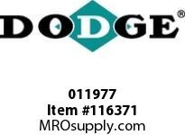 DODGE 011977 PX160 PARAFLEX INT CLAMP RING