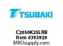 US Tsubaki C2050K25LRB C2050 RIV 5L/K-2