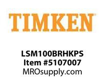 TIMKEN LSM100BRHKPS Split CRB Housed Unit Assembly