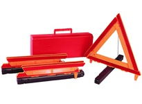 Cortina 95-02-002-03 (3) Triangles in Plastic Box w/handle (box# 13-01-005-05)