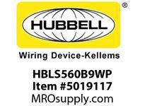 HBL_WDK HBLS560B9WP INLET4P5W60/63A 120/208V4X/69KPILOT