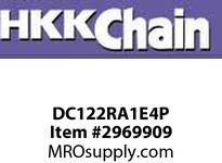 """HKKDC122RA1E4P 08B Stainless Stee (304) OFFSET LINK 1/2"""" Pitch"""