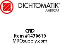 Dichtomatik CRD 393 VC603 EXTRUDED CORD-FKM 75 BROWN