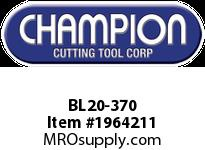 Champion BL20-370 CARB TIP LEAD ANGLE TURN TOOL