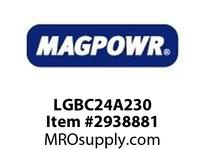 MagPowr LGBC24A230 BRAKE GLOBAL SIZE C FAN COOLED