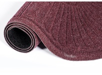 "Crown S2 F060BU 252 - Super-Soaker Half-Oval Standard Color Fabric Edging 73"" x 41"" (6 x 3.3) Burgundy"