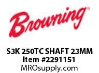 Browning S3K 250TC SHAFT 23MM S3000 ASSY COMPONENTS