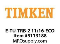 TIMKEN E-TU-TRB-2 11/16-ECO TRB Pillow Block Assembly
