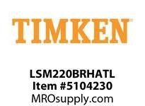 TIMKEN LSM220BRHATL Split CRB Housed Unit Assembly