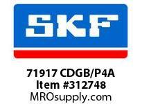 SKF-Bearing 71917 CDGB/P4A