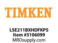 TIMKEN LSE211BXHDFKPS Split CRB Housed Unit Assembly
