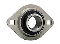 FYH SBPFL20618KG5 1 1/8 LD SS 2-BOLT PRESSED STEEL UNIT