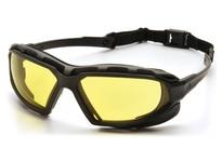 Pyramex SBG5030DT Black-Gray Frame/Amber Anti-Fog Lens