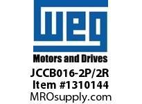 WEG JCCB016-2P/2R 4P 16A 2NO 2NC CON CWC DC COIL Contactors