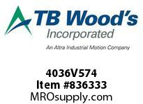 TBWOODS 4036V574 4036V574 VAR SP BELT
