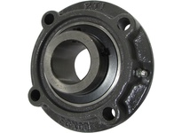 PTI UCFCX17-55 PILOTED 4-BOLT FLANGE BEARING-3-7/1 UCFCX 00 SILVER SERIES - MEDIUM DUT