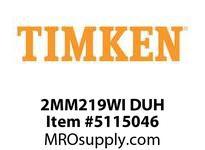 TIMKEN 2MM219WI DUH Ball P4S Super Precision