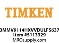 TIMKEN 3MMV9114HXVVDULFS637 Ball High Speed Super Precision