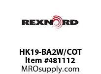 REXNORD 6187351 HK19-BA2W/COT X1351 PIN W/PINLOCK