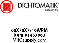 Dichtomatik 60X70X7/10WPM WIPER