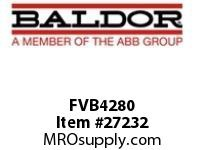 BALDOR FVB4280 288AT BLOWER LM4 FR280