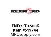 REXNORD END23T3.500K 720-23T 3.5 W/KW DRV SPKT 135497