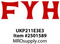 FYH UKP211E3E3 TAPERED BORE UNIT MACHINED FOR COVERS