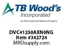 TBWOODS DVC41250AXN0NG INV DVC IP00 460V 125HP