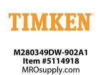 TIMKEN M280349DW-902A1 TRB Double Row Assembly 24-36 OD