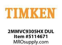 TIMKEN 2MMVC9305HX DUL Ball High Speed Super Precision