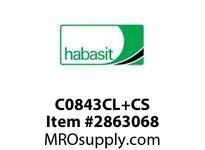 Habasit C0843CL+CS 843 Connecting Link Carbon Steel